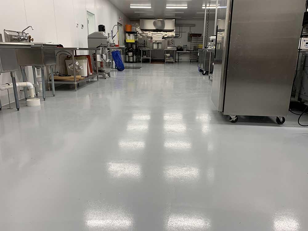 Solid Color Epoxy Floor Finish