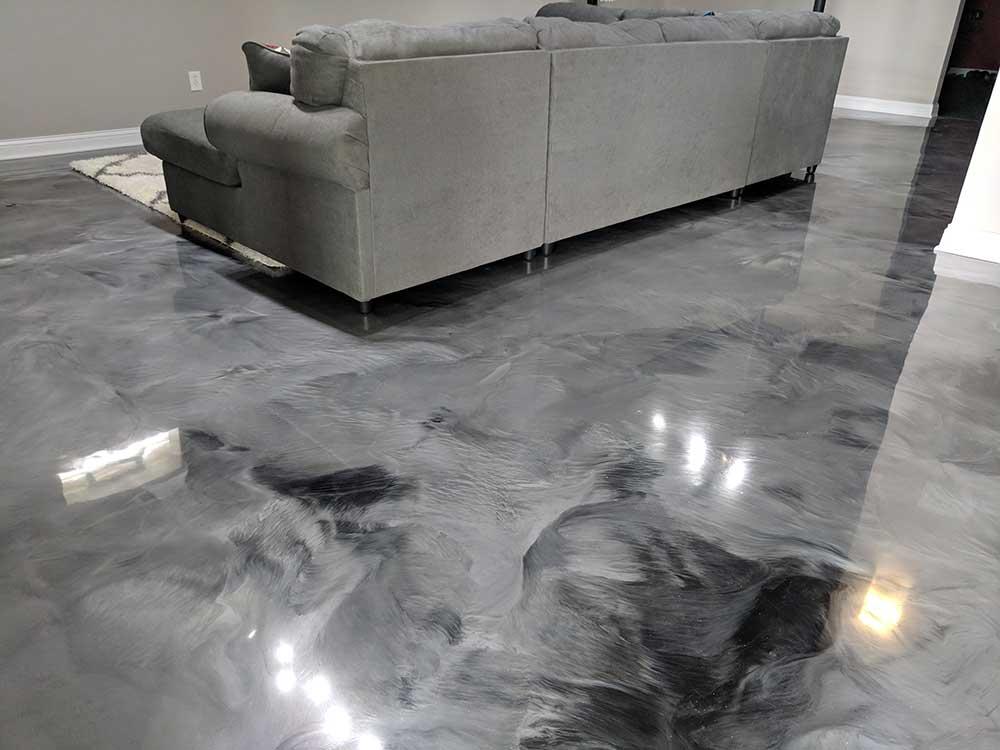 Custom Floor Coating Services Columbus Ohio