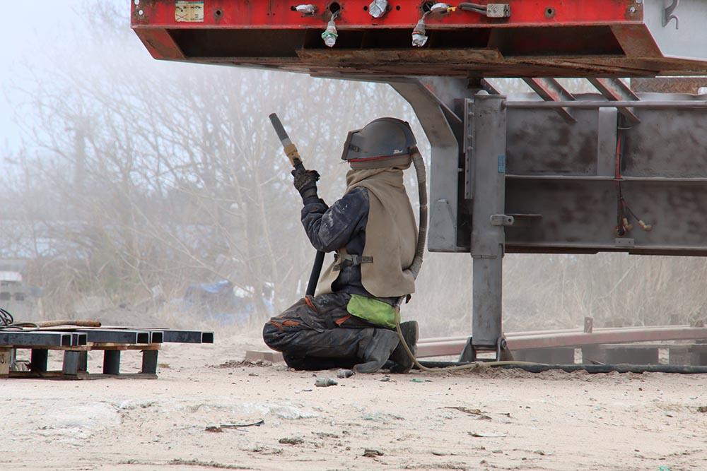 Equipment Sandblasting